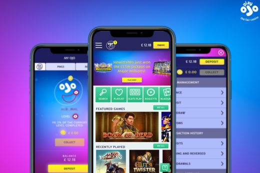 PlayOJO Mobile App