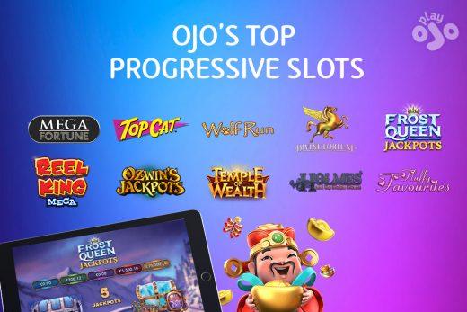 OJO's Top Progressive Slots